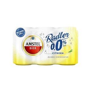 Amstel 0.0% radler 6-pack .